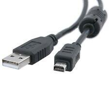 Remplacement usb 12 broches câble pour Olympus CB-USB6, CB-USB5, 200372, C-5500, c -...