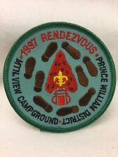 Boy Scouts -  1997 Rendezvous - Prince William District patch