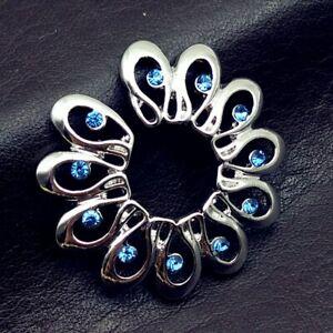 Nipple Ring Pair of Stainless Steel Non Piercing Clip On Flower Design UK SELLER