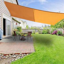 Étanche Voile d'ombrage Protection Anti-UV 95% Solaire Toile Tendue Parasol