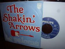 "Shakin' Arrows, La paloma, Blue Arrow, Instrumental, Philips Holland 7"""