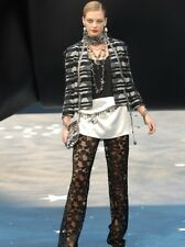 CHANEL Bow Lace Pants