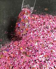 glitter mix nail art acrylic gel    MELON BALL  limited edition