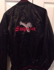 Snap On Tools Black Light Weight Jacket Size LARGE