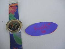 Uhr Armbanduhr Swatch Pop - Veruschka 1991 / 1992  -- Super Zustand !!!