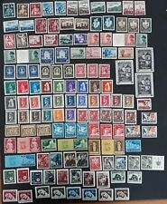 SCARCE 1941- Croatia lot of 131 Charity postage & tax stamps Mint & Used