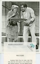 MARTHA RAYE STEVE ALLEN THE HOLLYWOOD PALACE ORIGINAL 1969 ABC TV PHOTO