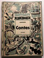 1934 CONTES D'ANDERSEN CHARMANT LIVRE ILLUSTRE LITTERATURE DANOIS BOOK ENFANTINA