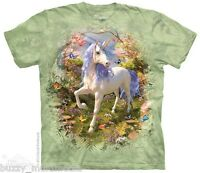 Unicorn Forest Shirt, Mountain Brand, Mythical Creature, Small - 5X, graphic tee