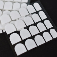 Double Sided Adhesive CLEAR Tape Glue Stickers Nail Tip Tabs *YOU CHOOSE QTY!*