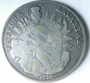 1770 HUNGARY THALER - High Grade Silver Crown Coin - BIG VALUE - Lot #L23