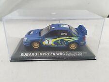IXO DEAGOSTINI 1/43 SUBARU IMPREZA WRC - NEW ZEALAND RALLY 2003 DIECAST CAR