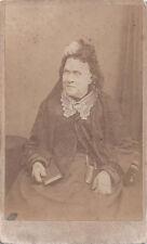 1880s COLQUHOUN SOUTHEND COTTAGE ENGLISH CDV CROSS DRESSING MAN? OR WOW!!!!
