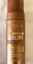 NEUF *** L'OREAL - Mousse autobronzante Sublime Bronze corps *** NEUF