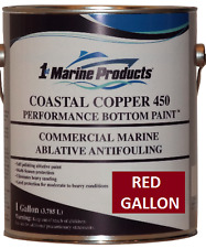 Coastal Copper 450 Multi-Season Antifouling Bottom Paint Red Gallon
