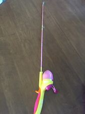 Barbie Shakespeare Fishing Combo Used