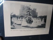 Macy's Dept Store Thanksgiving Day 1926 Parade Print