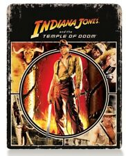 INDIANA JONES and the Temple Of Doom (BLU-RAY STEELBOOK) Harrison Ford