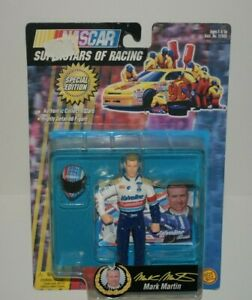 Toy Biz 1998 Nascar Superstars Of Racing Figure MARK MARTIN