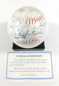 1936 First HOF Election Commemorative Baseball Ruth Wagner Cobb ++