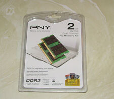 PNY PC2-5300 2 GB SO-DIMM 667 MHz DDR2 SDRAM Memory (MN2048KD2-667)
