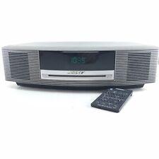 New listing Bose Wave Awrcc1 Am/Fm Radio with Cd Titanium Silver with Remote Fast Ship N02