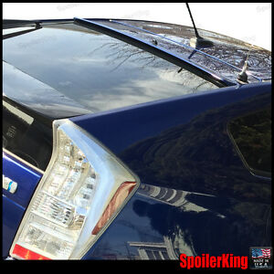 (818R) StanceNride Rear Roof Spoiler Window Wing Fits:Toyota Prius xw30 2010-15