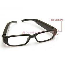 Mini HD 720p Cámara Espía Vasos Oculto Gafas DVR Grabador Video Camcord FA
