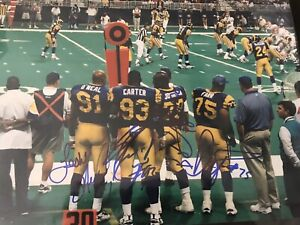 KEVIN CARTER ST T LOUIS RAMS 8X10 SPORTS ACTION PHOTO