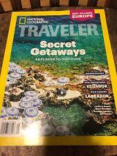 National Geographic Traveler Magazine August/ September 2018 Secret Getaways