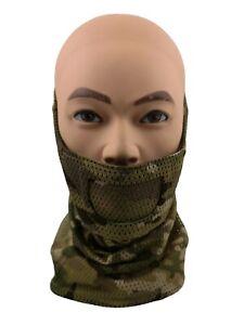 Airsoftmaske Gittermaske Meshmask Schutz Balaclava Loop Schal Metall  Halbmaske