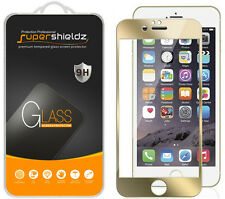 "Supershieldz Real Tempered Glass Screen Protector For iPhone 6 4.7"" [Gold Color]"