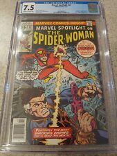 Marvel Spotlight #32 CGC 7.5 1st appearance Spider-Woman