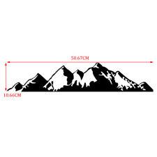 19.9in Car Off-Road Camper Mountain Range Sticker Door Body Graphics PET Decal