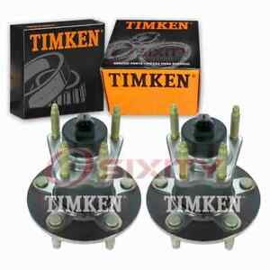 2 pc Timken Rear Wheel Bearing Hub Assembly for 2005-2010 Chevrolet Cobalt gm