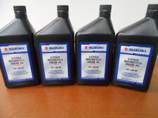Suzuki Motorcycle Scooter ATV Engine Clutch Oil 10W-40 *Lot of 4 Quarts* OEM