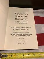 Guidebook To Practical Halacha Vol 5Jewish Psak Rabbi Feinstein Torah