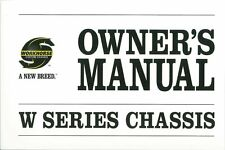 2008 Workhorse W Series Chassis Owners Manual User Guide