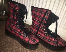 Jeffrey Campbell Tartan Boots