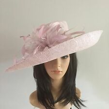 PETER BETTLEY PALE LILAC WEDDING HAT FORMAL Occasion MOTHER OF THE BRIDE