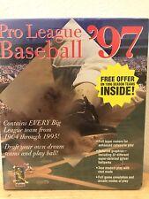 Pro League Baseball '97 DOS and Windows 97 New Big Box