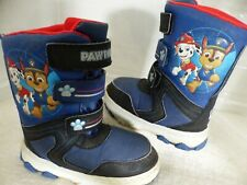 Paw Patrol Toddler Blue Snow Boots Shoes - Toddler, Kids, Little Boys size 12