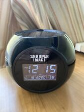 Sharper image Sound Machine Projection Alarm Clock Stars Soothing Sounds Colors