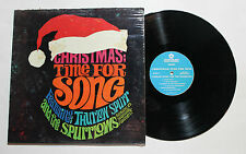 THE SPURRLOWS Christmas: Time For Song LP Word Rec C-5079 US VG++ IN SHRINK 4F
