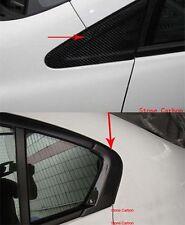 Carbon Fiber Side Window Intake Pillar 4pcs For Honda Civic 2012-2014 4 Doors