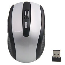 New Standard USB 2.4G 2.4 GHz Cordless Wireless Optical Mouse/Mice Grey