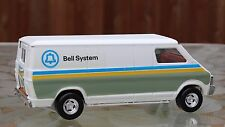 """Bell Telephone System Service Delivery Cargo Van 11"""" Truck 1980s Toy Ertl"""