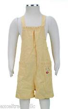 JACADI Girl's Lice Yellow Grid Print Overalls Picnic Theme Sz 24 Months NWT $42