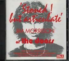 CD-Jim Morrison/Doors-Stoned But Articulate--interview cd NO MUSIC-UK issue '96
