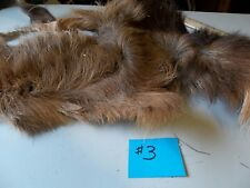 Caribou hair fur Patch for Fly Tying - Size Large